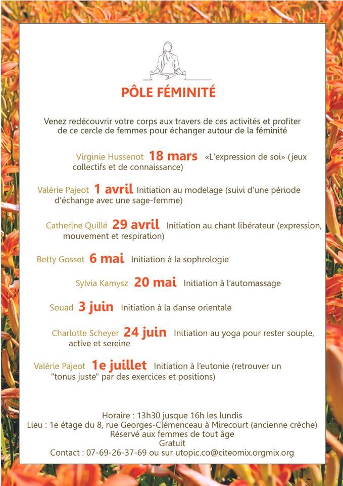 Pole féminité Mirecourt